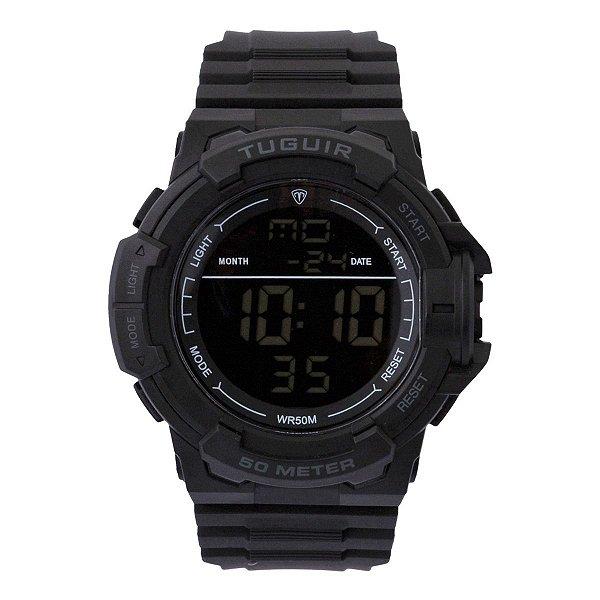 Relógio Masculino Tuguir Digital TG126 - Preto