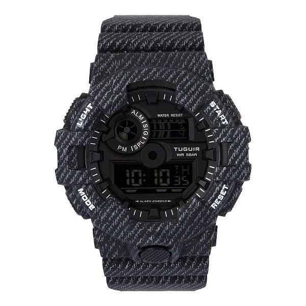 Relógio Masculino Tuguir Digital TG127 - Preto
