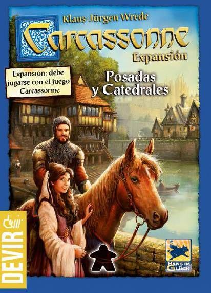 Carcassonne: Pousadas e Catedrais (2ª edição)