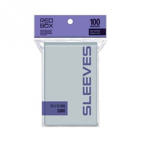 Sleeves Redbox: EURO 59 x 92 mm
