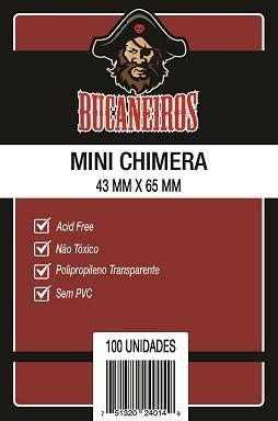 Sleeves Bucaneiros: MINI CHIMERA 43 x 65 mm