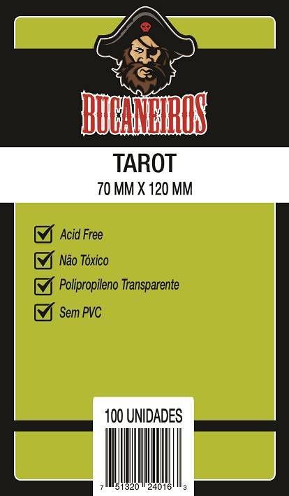 Sleeves Bucaneiros: TAROT 70 x 120 mm