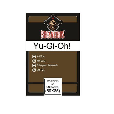Sleeves Customizados Bucaneiros: Yu-Gi-Oh! 59 x 85 mm