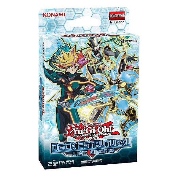 Yu-Gi-Oh! - Deck Estrutural: Link Ciberso