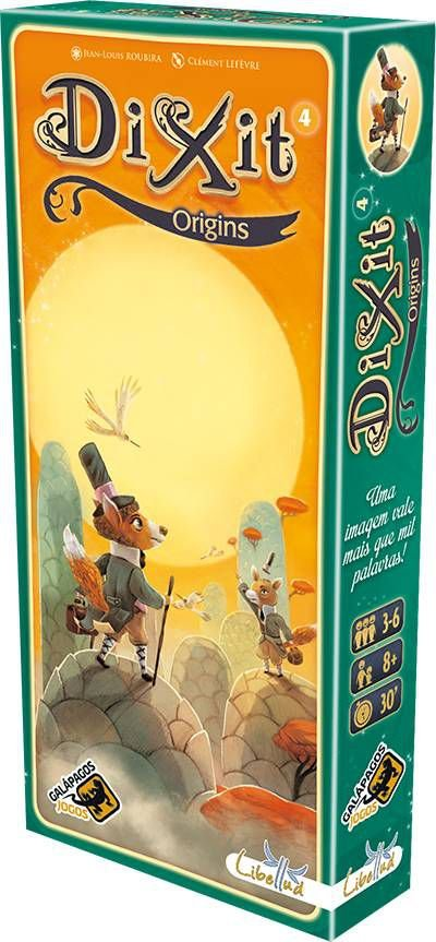 Dixit Origins - Expansão 4, Dixit