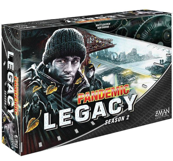 Pandemic Legacy: 2ª Temporada (Black)