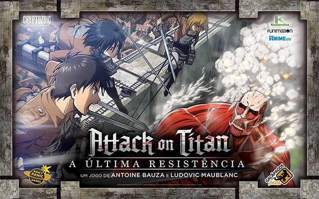 Attack on Titan - A Última Resistência