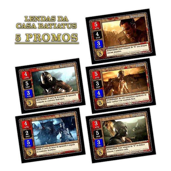 Spartacus: Lendas da Casa Batiatus (Promo Pack)