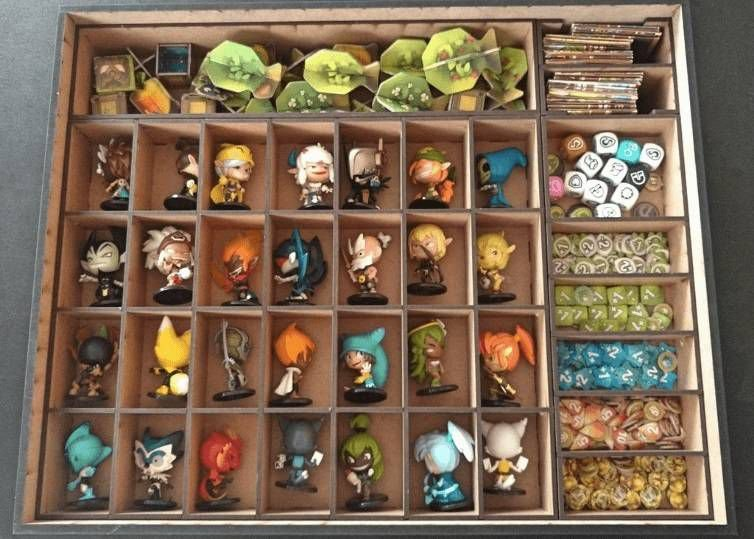 Caixa organizadora para Krosmaster (60 miniaturas)