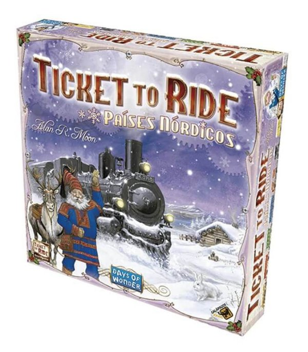 Ticket to Ride Paises Nordicos