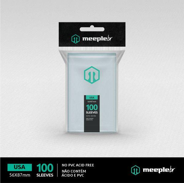 Sleeves MeepleBR: USA 56 x 87 mm