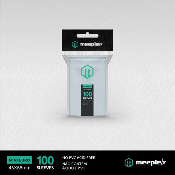 Sleeves MeepleBR: MINI EURO 45 x 68 mm