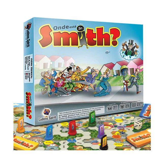 ONDE ESTA SR. SMITH?