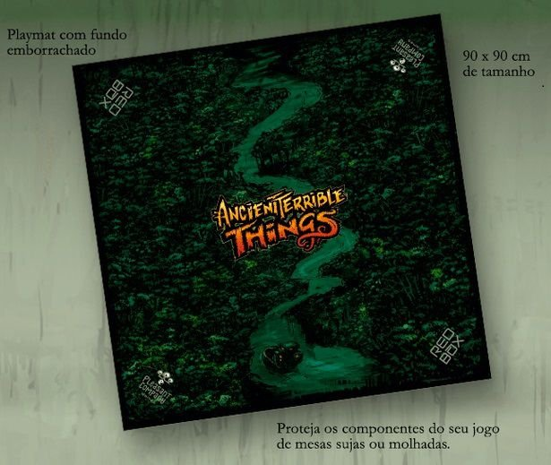 Playmat - Ancient Terrible Things