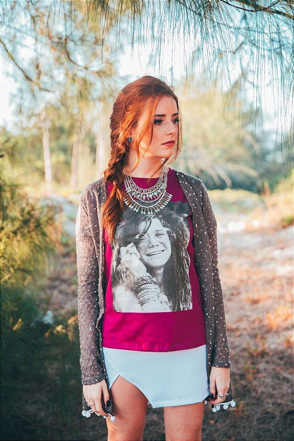T-shirt Janis Joplin