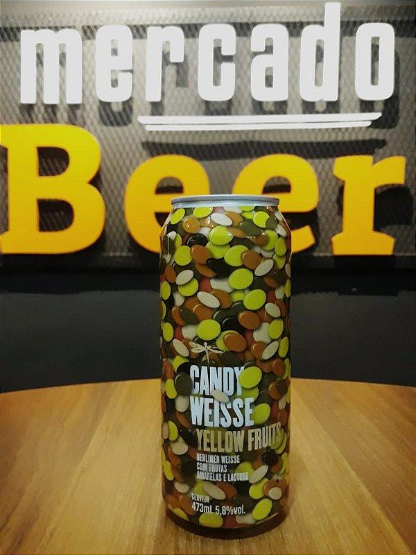 Cerveja Dádiva Candy Yellow Fruits 473ml