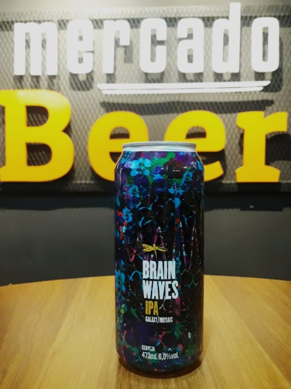 Cerveja Dádiva Brain Waves 473ml