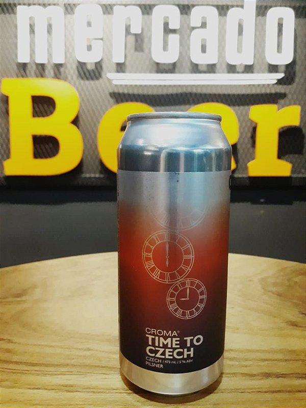 Cerveja Croma Pilsen Time To Czeh 473ml