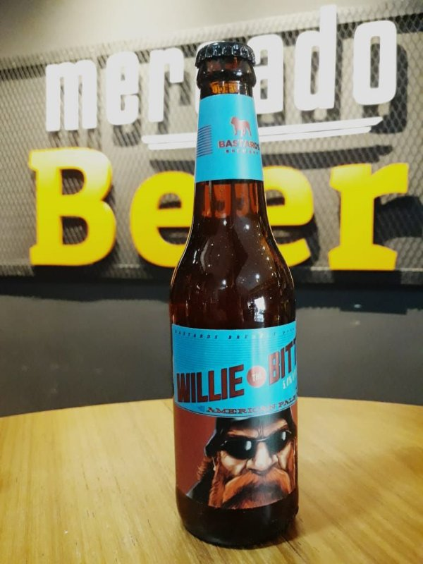 Cerveja Bastards Willie The Bitter 355ml