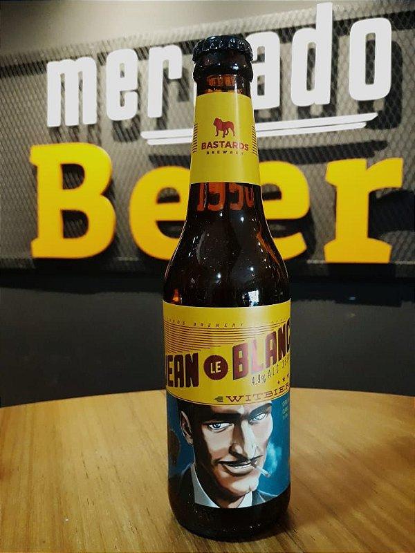 Cerveja Bastards Jean Le Blanc 355ml