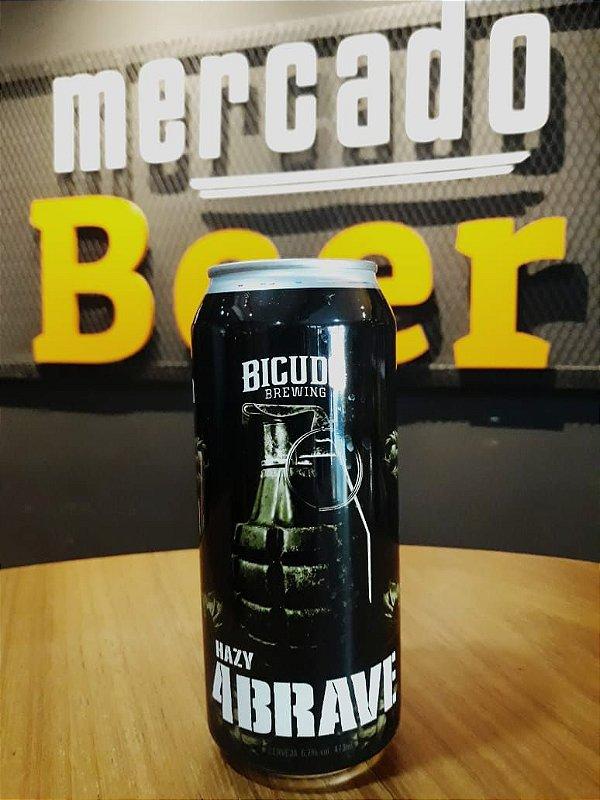 Cerveja Bicudo Hazy 4 Brave 473ml
