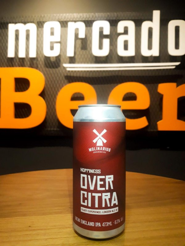 Cerveja Molinarius Overcitra London Ale III 473ml