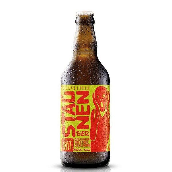 Cerveja Staunen Wit 500ml