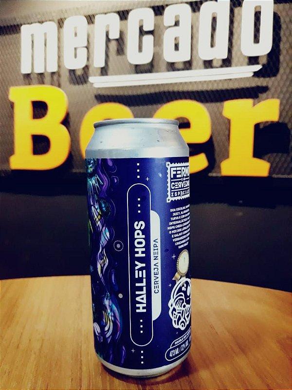 Cerveja Fermi Halley Hops 473ml