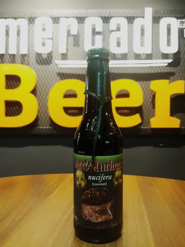 Cerveja Quatro Graus Black Anthrax Nucifera 355ml