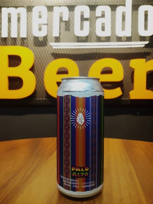 Cerveja Garimpero Palo Alto 473ml