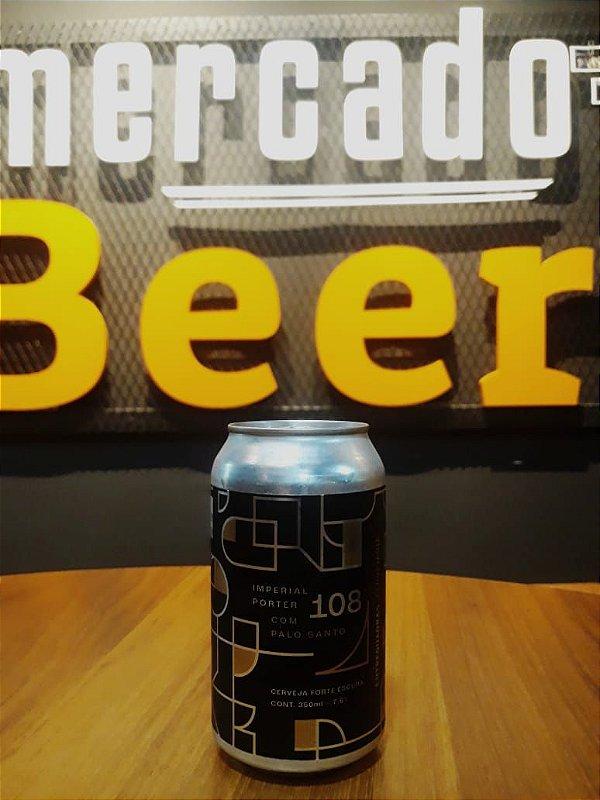 Cerveja Entrequadras 108 Imperial Porter Palo Santo 350ml