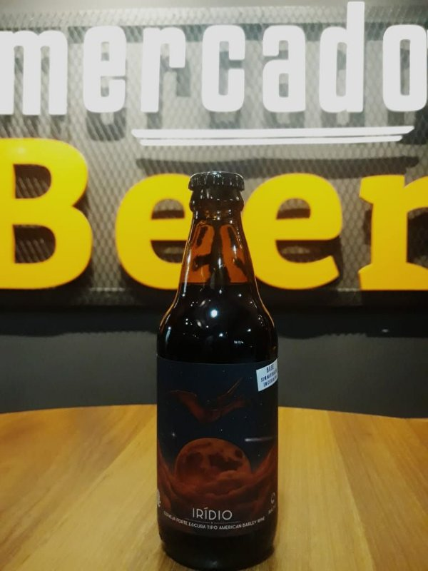 Cerveja Satelite Iridio Barrel Aged 300ml