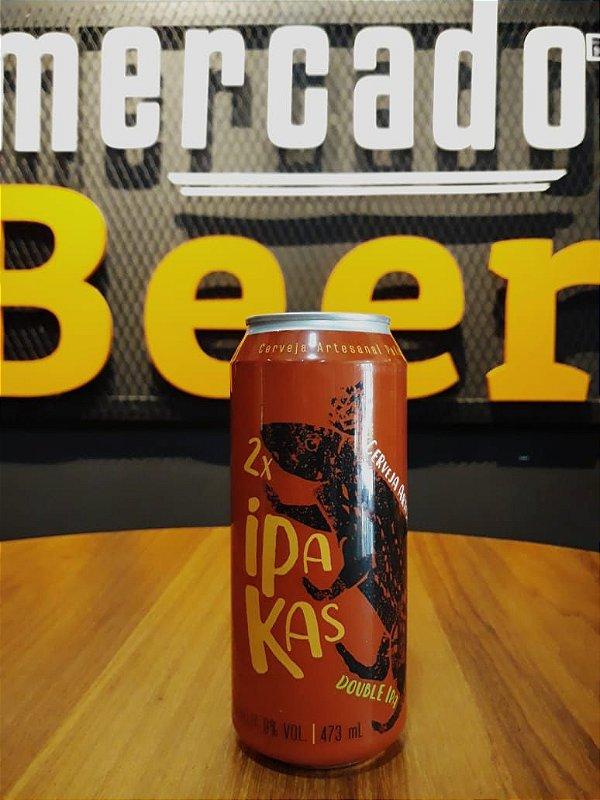Cerveja Pakas 2x Ipakas 473ml