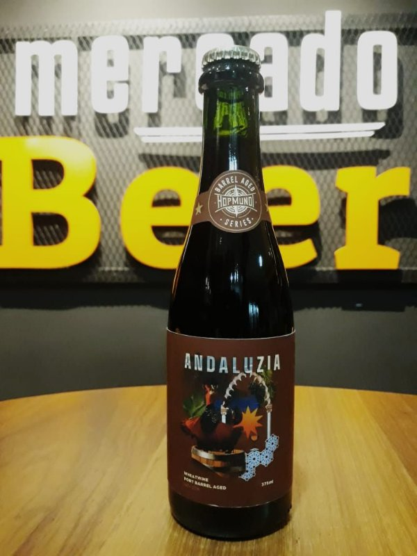 Cerveja hop Mundi Andaluzia Wheatwine 375ml