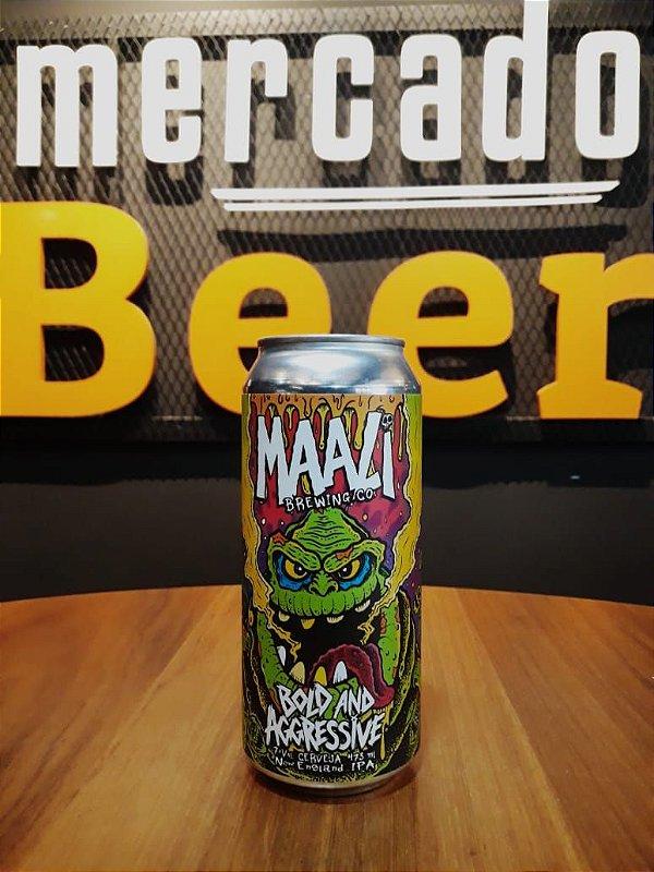 Cerveja Maali Bold And Aggressive 473ml