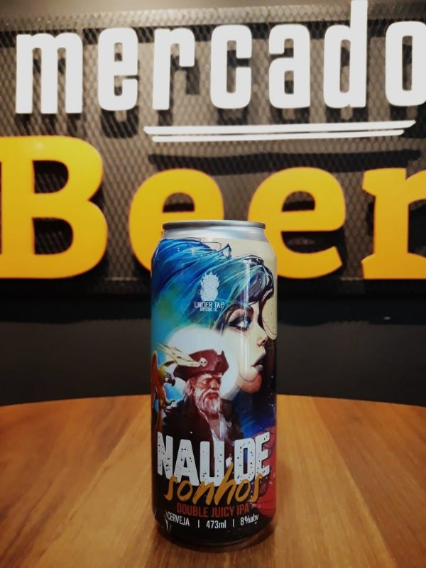 Cerveja Under Tap Nau de Sonhos 473ml