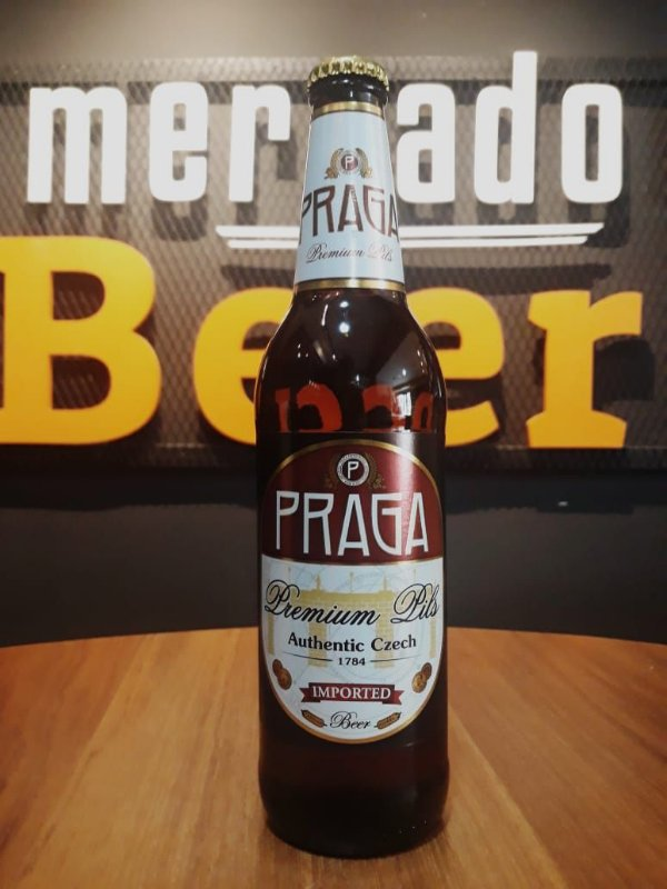 Cerveja Praga Premium Pilsner 500ml