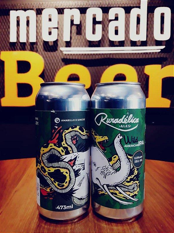 Cerveja Ruradélica Wild 473ml