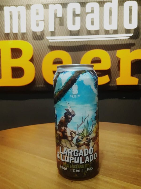 Cerveja Under Tap Largado & Lupulado 473ml
