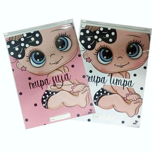 Kit creche (sujo e limpo) - Baby Menina