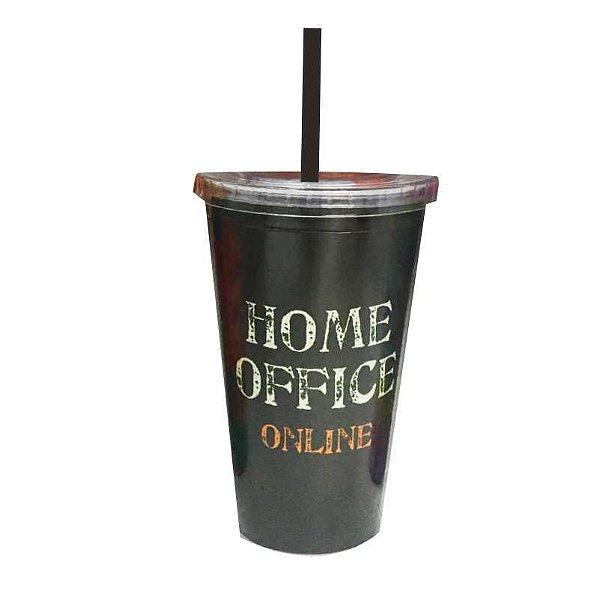 Copo acrílico Home Office - online e offline