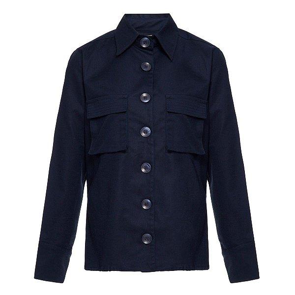 Camisa Alfaiataria Azul Marinho Persistência