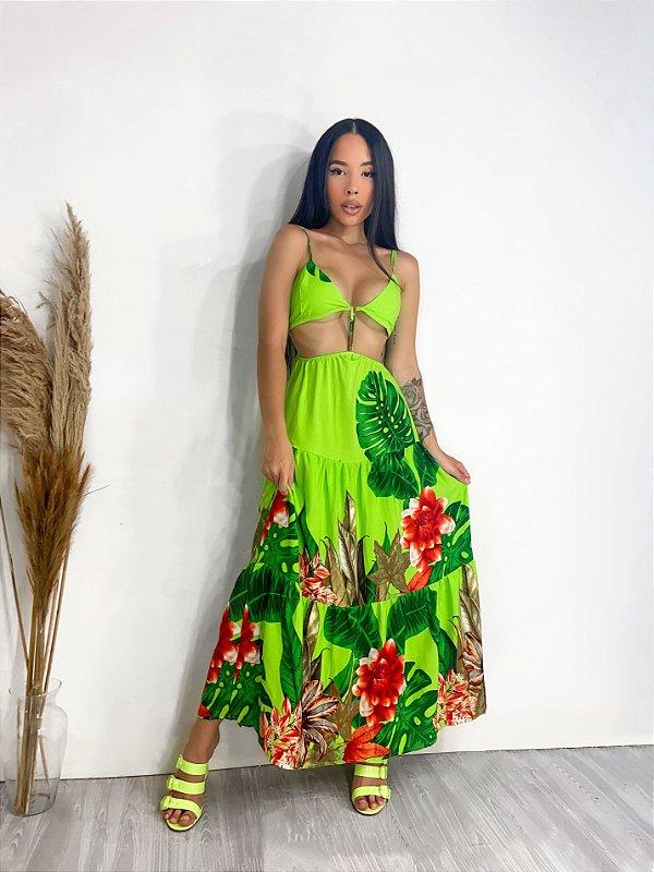 Vestido Verde Lima