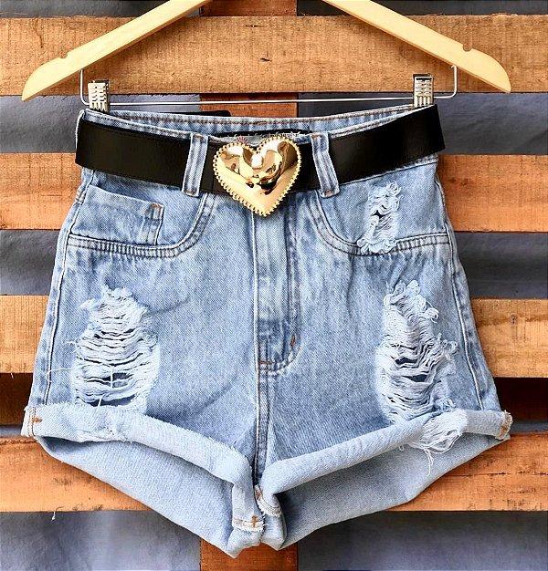 Short Jeans Dobradinho