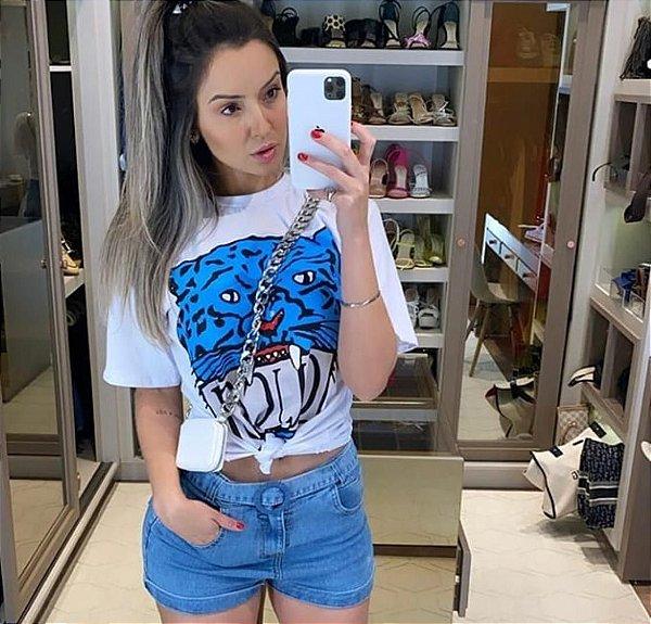 T-shirt Tigre Cores