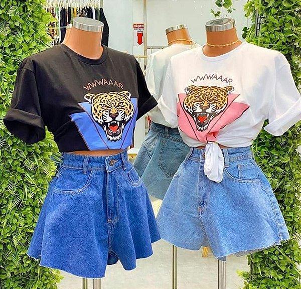 T-shirt Tigre Waar