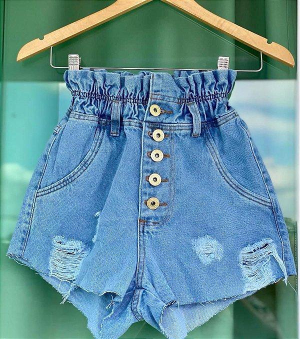 Short Jeans Elastico