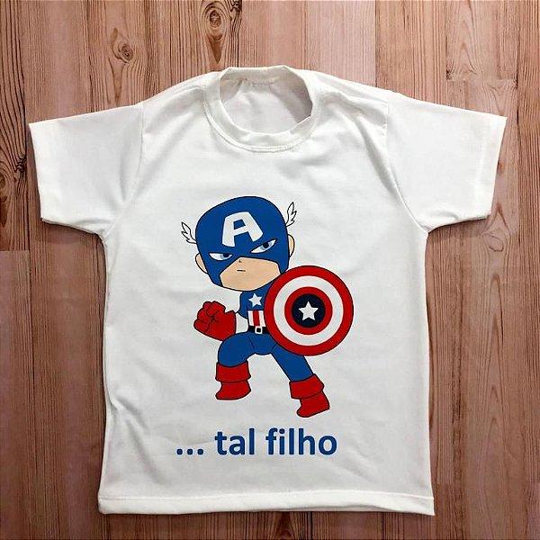 KIT 006 - FILHO CAPITÃO AMÉRICA