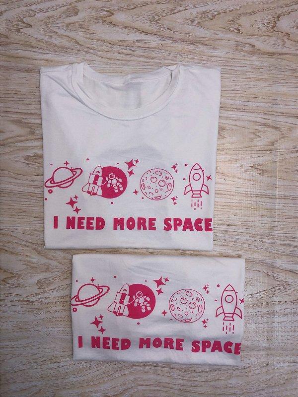 T-SHIRTS FEMININA VISCOLYCRA OFF SPACE