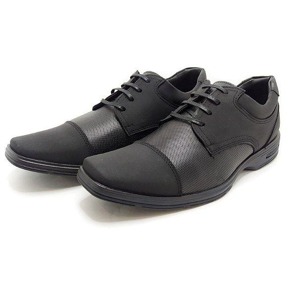 Sapato Social Preto Destroyer 2Walk